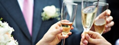 The Etiquette of Wedding Toasts - James Hasler - Toastmaster and Master of Ceremonies London The Man in the Red Coat