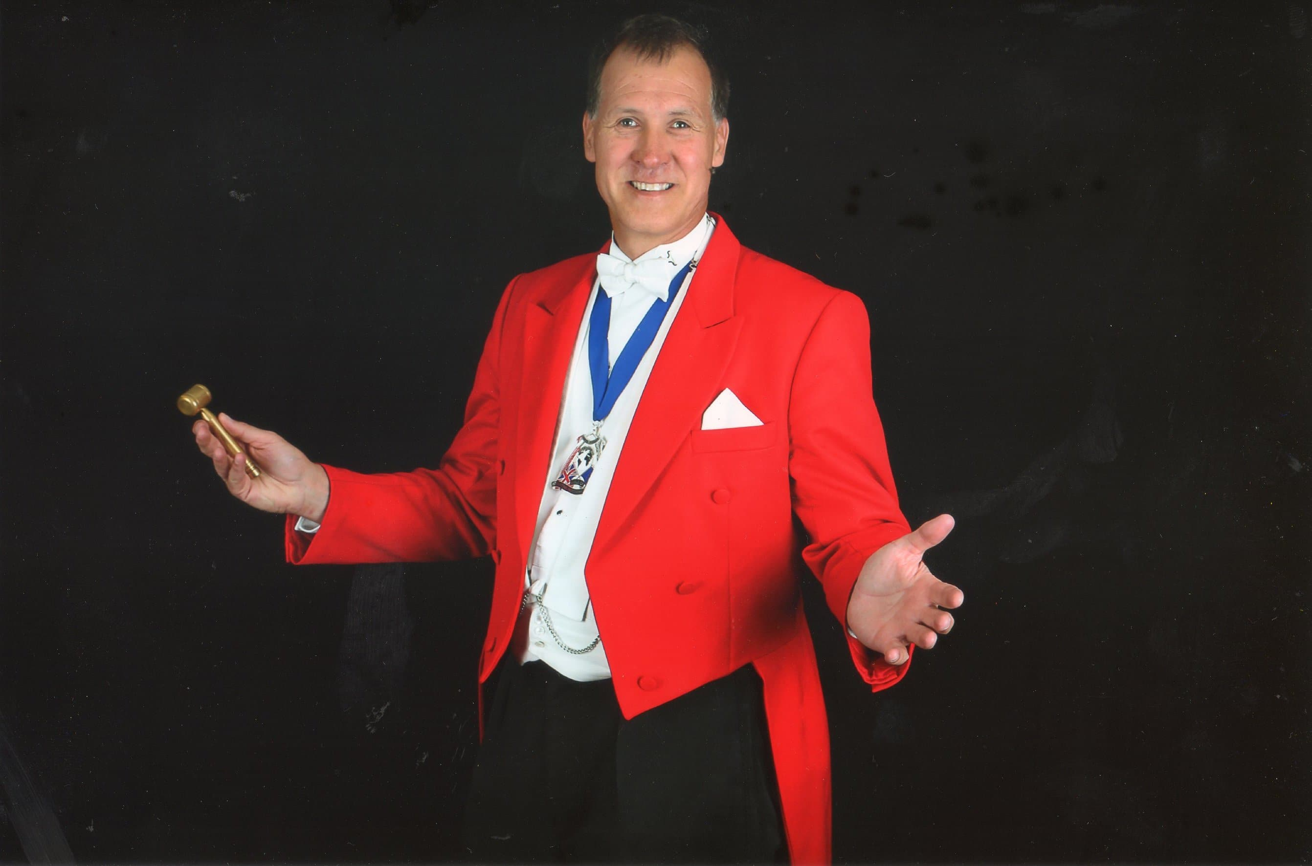 Toastmaster and Master of Ceremonies London - James Hasler