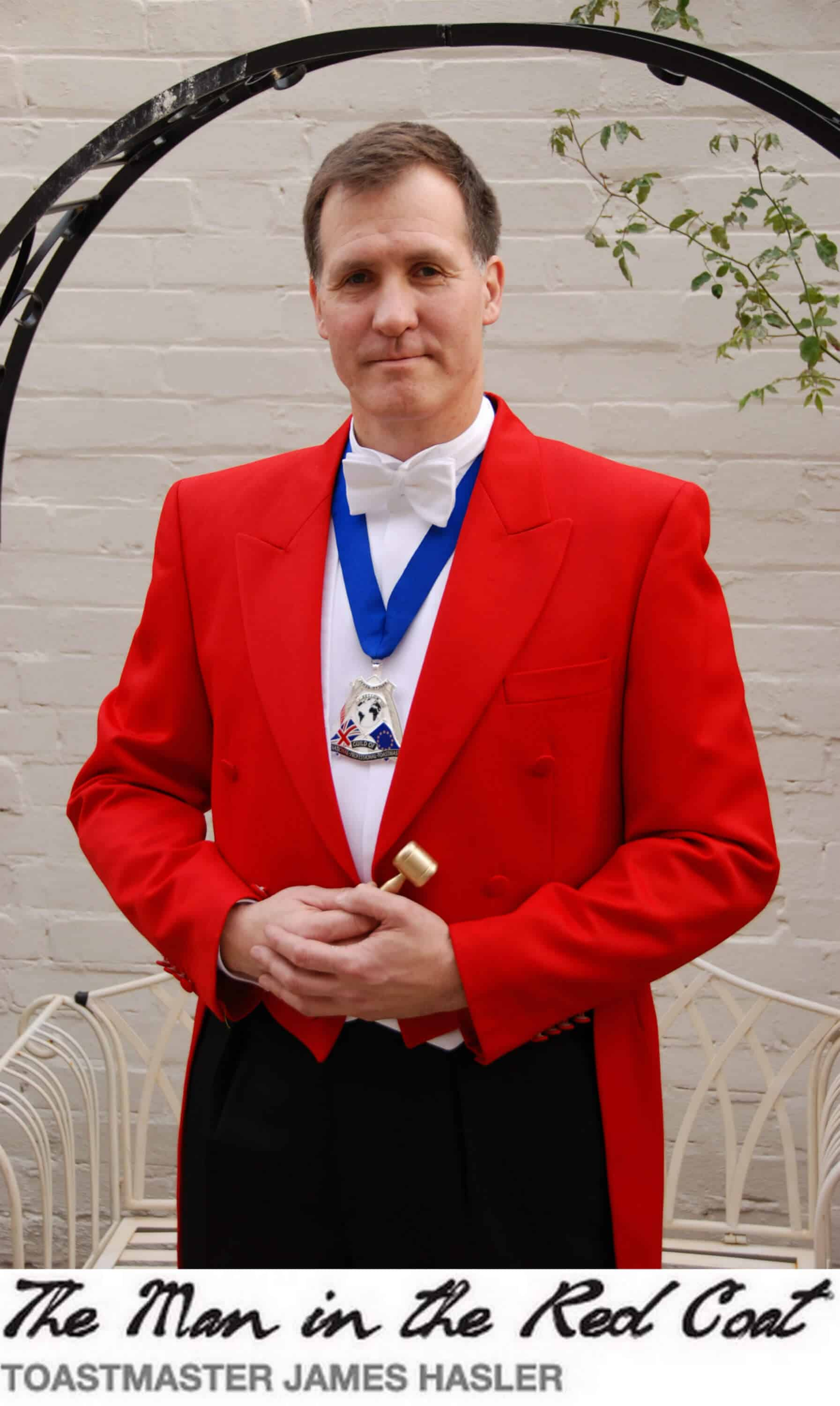 The Gallery of Toastmaster James Hasler - The Man in the Red Coat