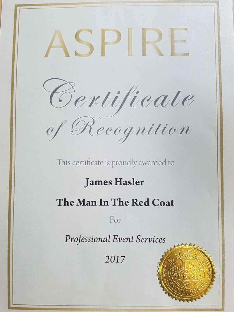 award winning toastmaster