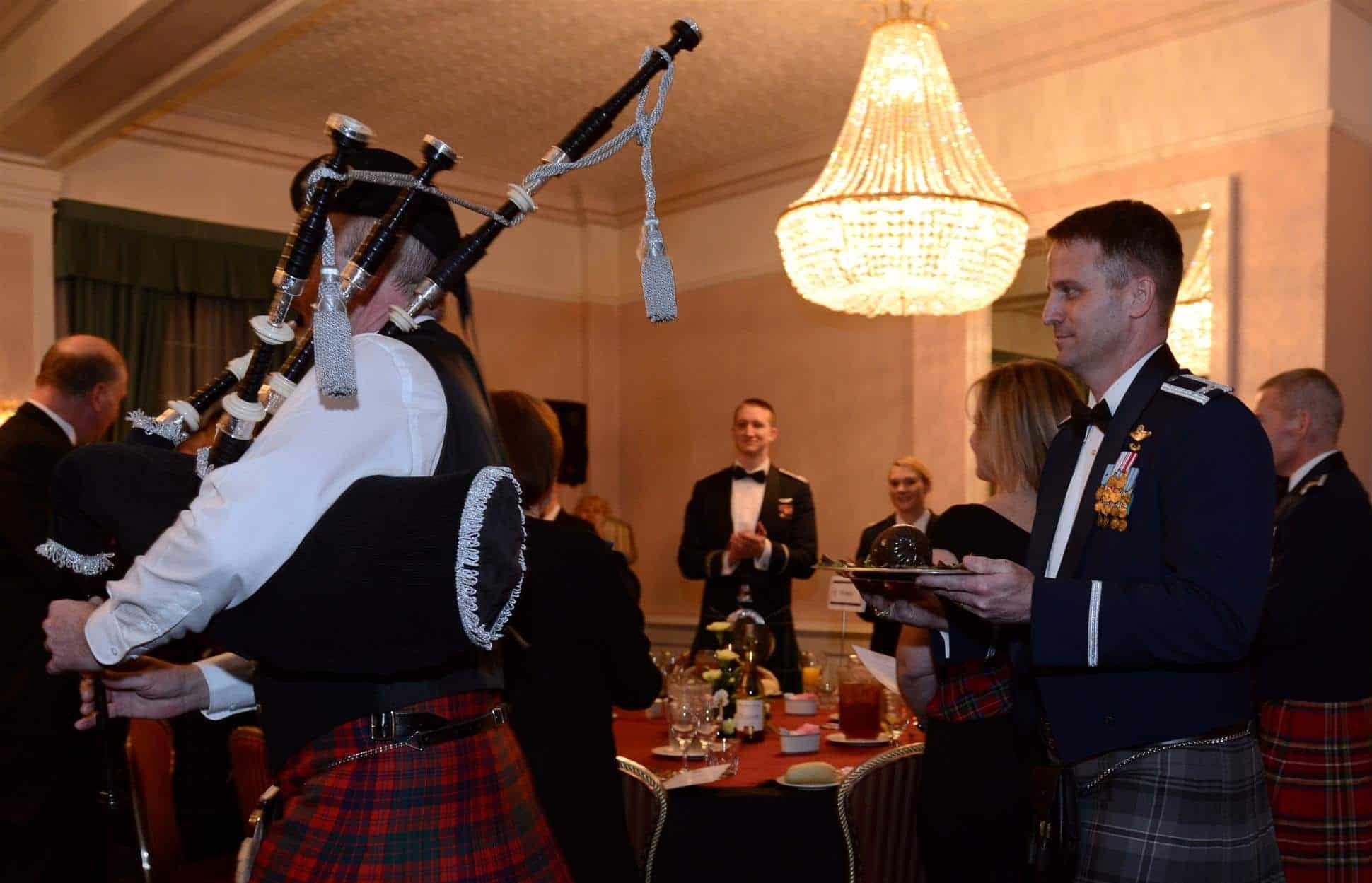Burns Night Supper 2018 - Toastmaster James Hasler