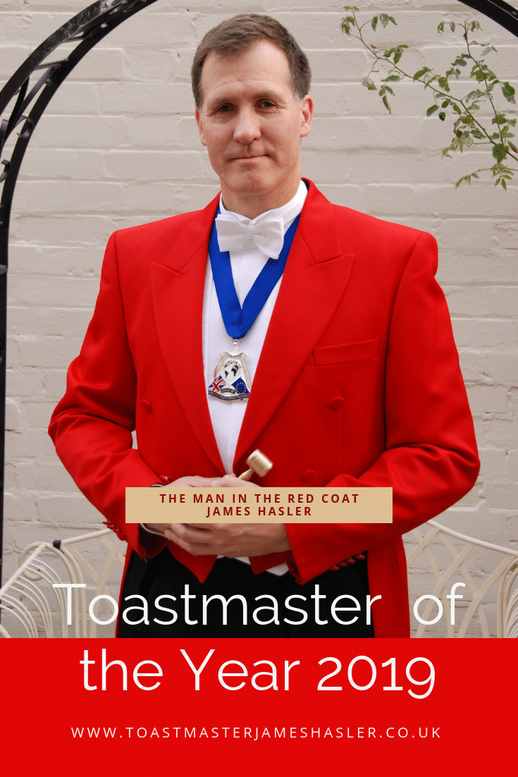 Toastmaster & Master of Ceremonies London Logo